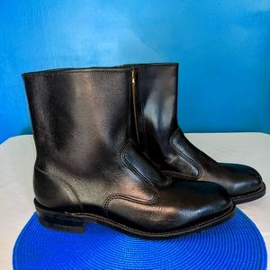 Vibram Black Steel Toe Work Boots -12